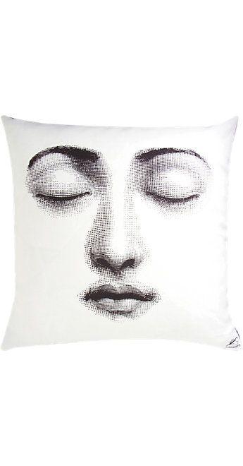 Fornasetti Silenzio Pillow -  - Barneys.com