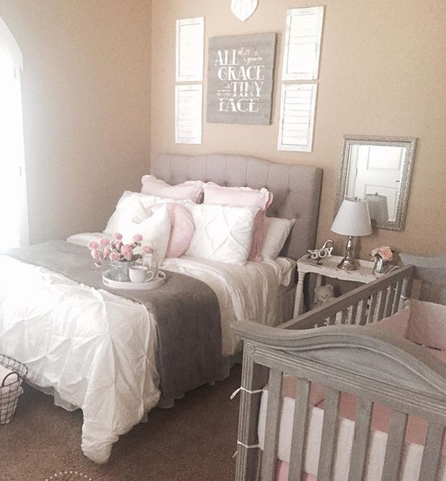 Pin by jaime brown on guest bedroom pinterest nursery for Master bedroom with attached nursery