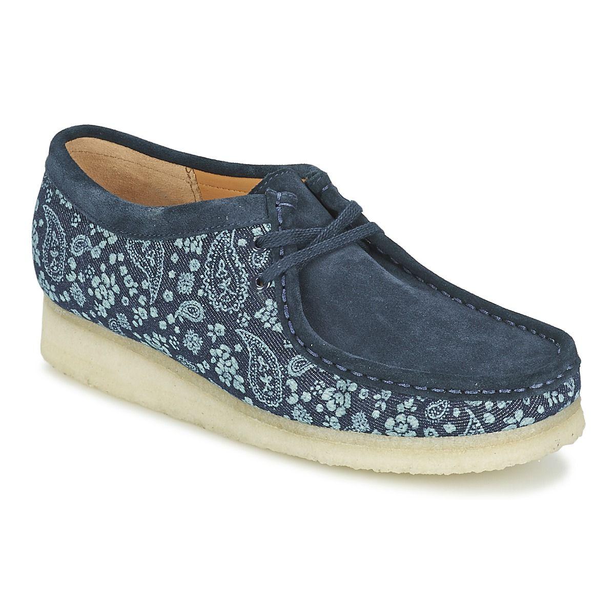 Cher Wallabee Pinterest Pas Derbies Bleu vvqdwzr8x Chaussures Clarks TlKJ3cF1