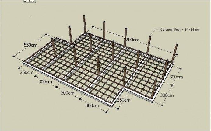 Fondation d\u0027une maison bois Mobiteck  constructeur bungalow kit