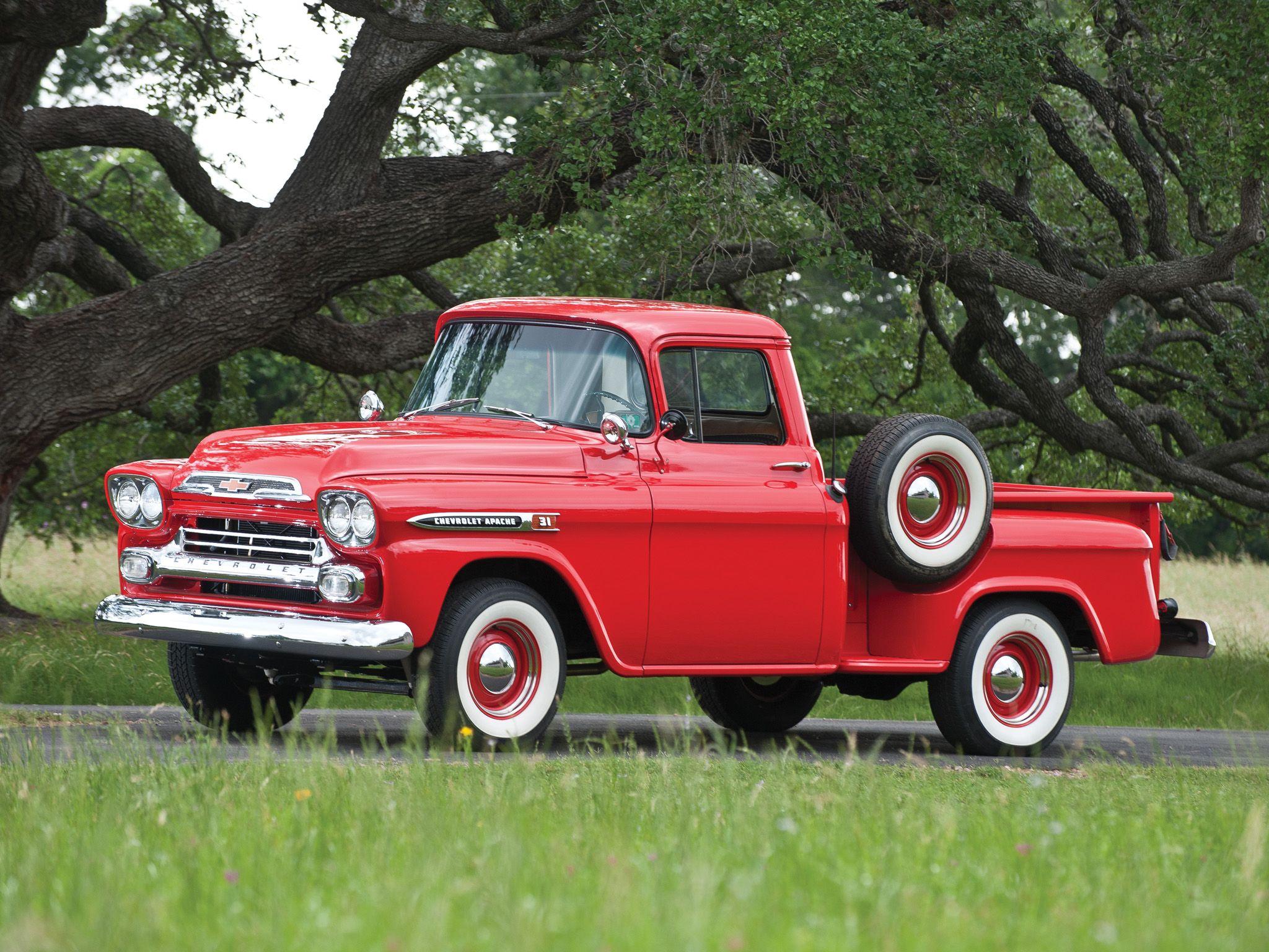 1958 chevy apache 3100 stepside | Chevrolet Apache 31 Stepside ...
