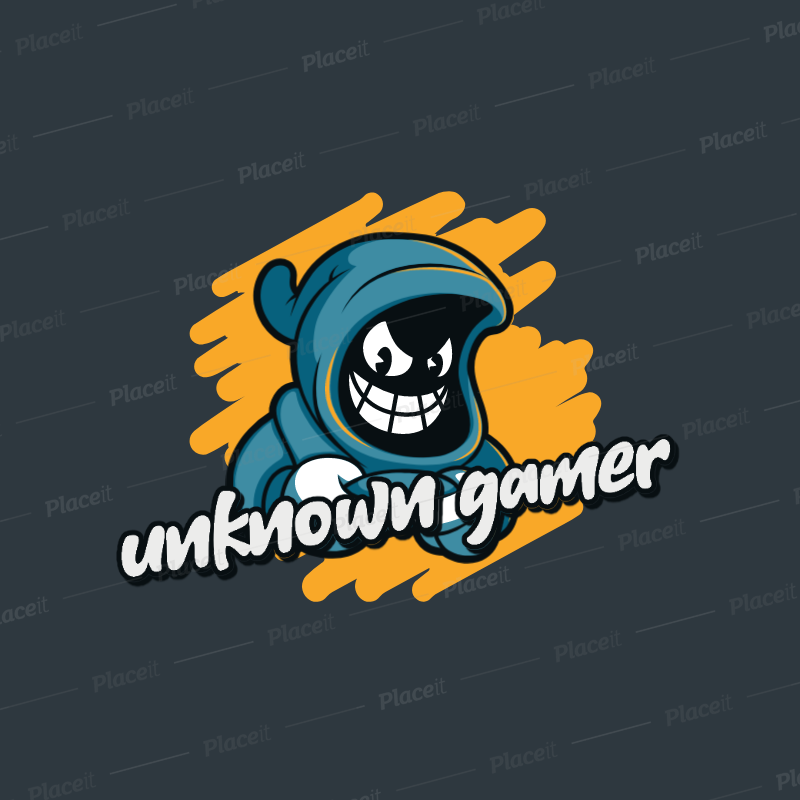 Placeit Cuphead Inspired Logo Template For A Gaming Squad Logo Templates Templates Logos