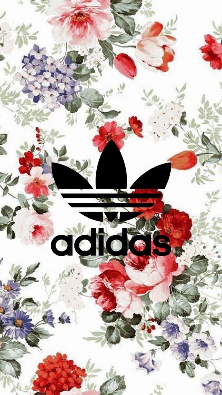 Floral Adidas Wallpaper Adidas Wallpapers Flower Wallpaper Iphone Wallpaper