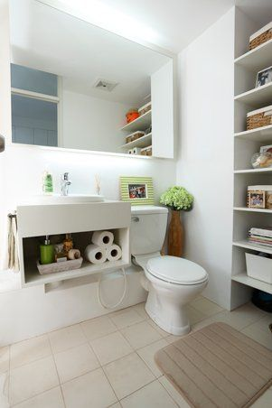 make the most of a small bathroom with these practical decorating ideas