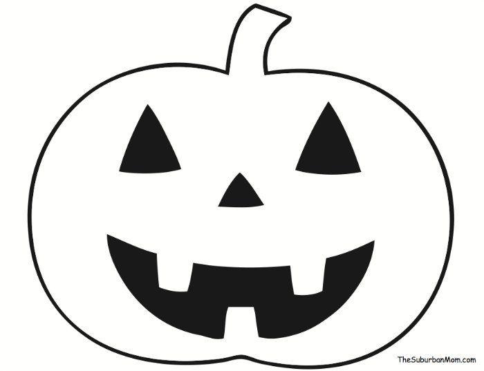 Pumpkin Halloween Countdown Craft Template For Kids