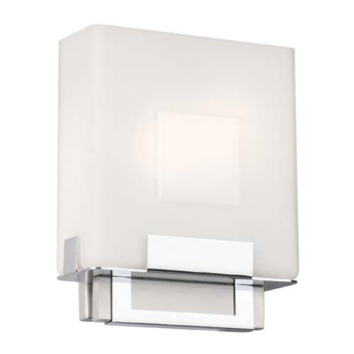 Square 2 Light Bath Bar