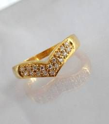 Buy GOLD PLATED RING Ring online