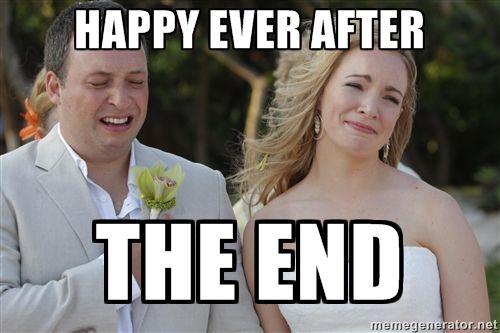 338e626819033eaf291a7937f471f87f happy ever the end meme bride memes contest, bridal memes, memes,Meme Bridal