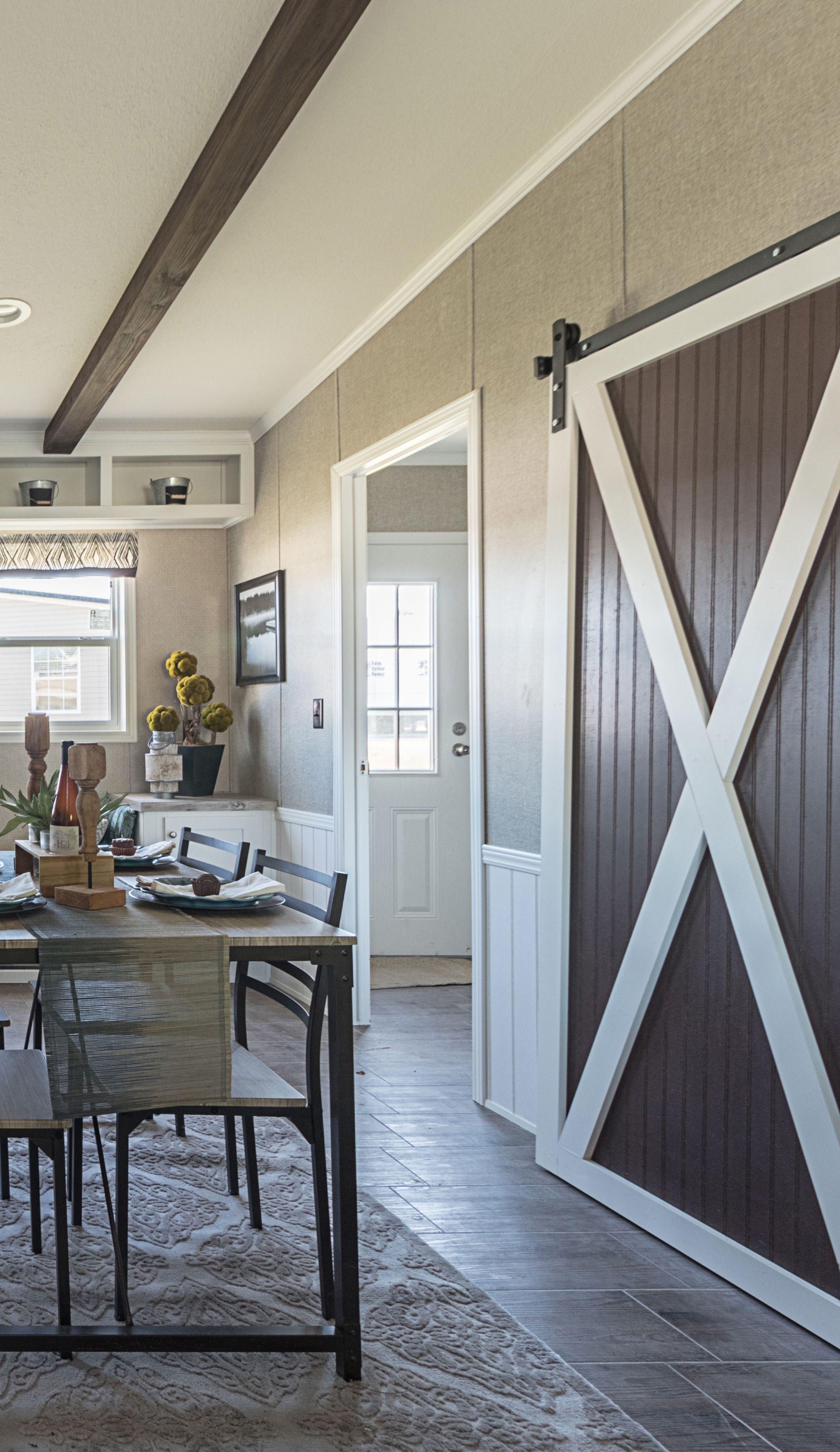 Love Those Sliding Barn Doors!