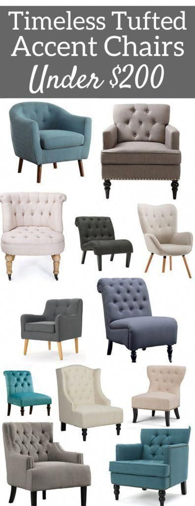 Tufted Accent Chairs Under 200 Amazon Finds Amazon Chairs Office Chairs Living Room Chairs Bedroom Chairs O Mebel Interer Salona Dizajn Interera