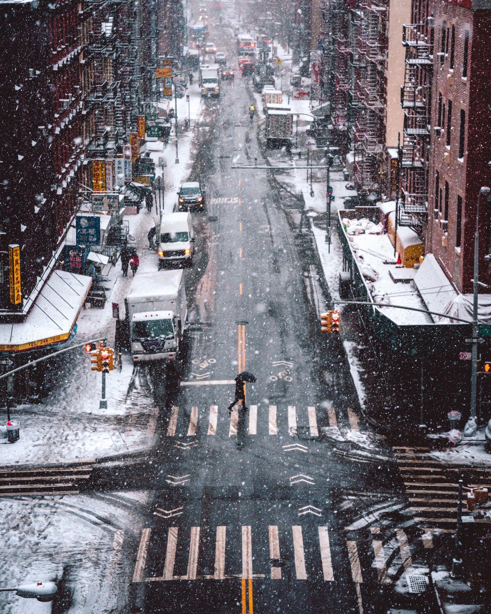Ryan Millier On Twitter In 2021 City Wallpaper New York Christmas Winter Wallpaper
