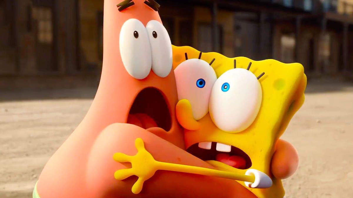 Trailer Spongebob Splashes In Sponge On The Run Rotoscopers Spongebob Squarepants New Spongebob Spongebob