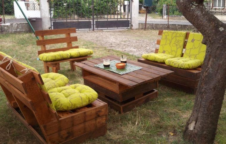 Salon De Jardin En Palette Comment Faire - Maison Mobilier ...