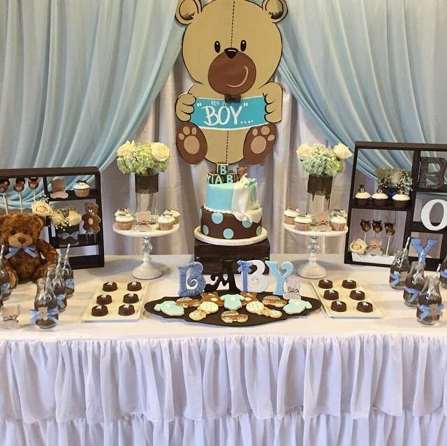 Ideas Baby Shower Nino Ositos.Teddy Bear Baby Shower Party See More Party Ideas At