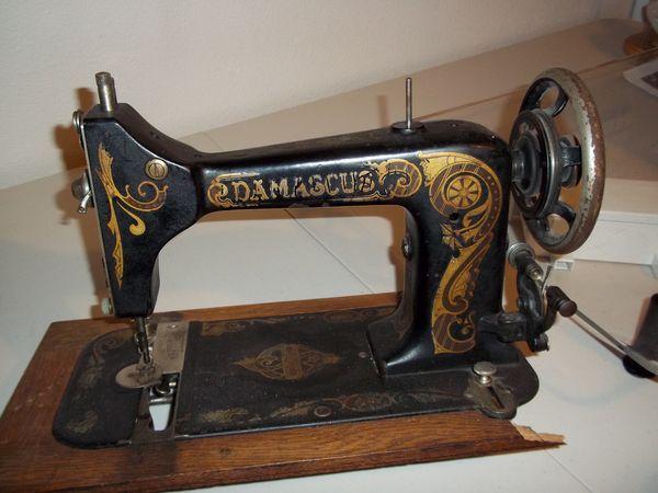Damascus Antique Sewing Machine Antique Sewing Machines Sewing Awesome Damascus Sewing Machine