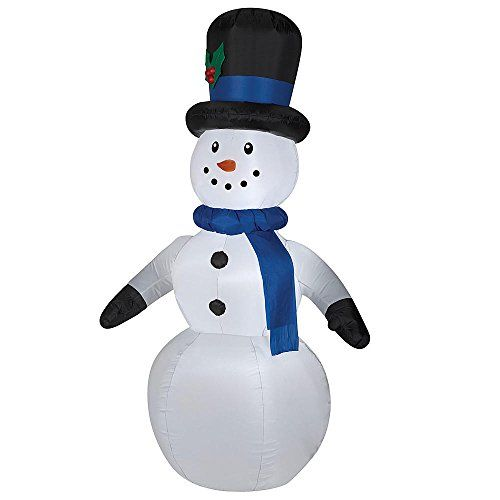 Trimming Traditions Airblown - Snowman Toyo Electric Mfg   - lowes halloween inflatables
