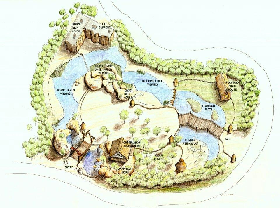 Memphis Zoo Zambezi River Hippo Camp Torre Design Consortium zoo