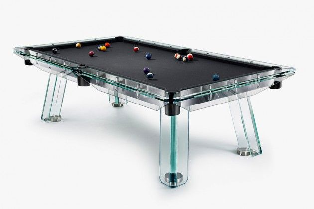This Glass Wood Ping Pong Table Is Also A Stylish Piece Of