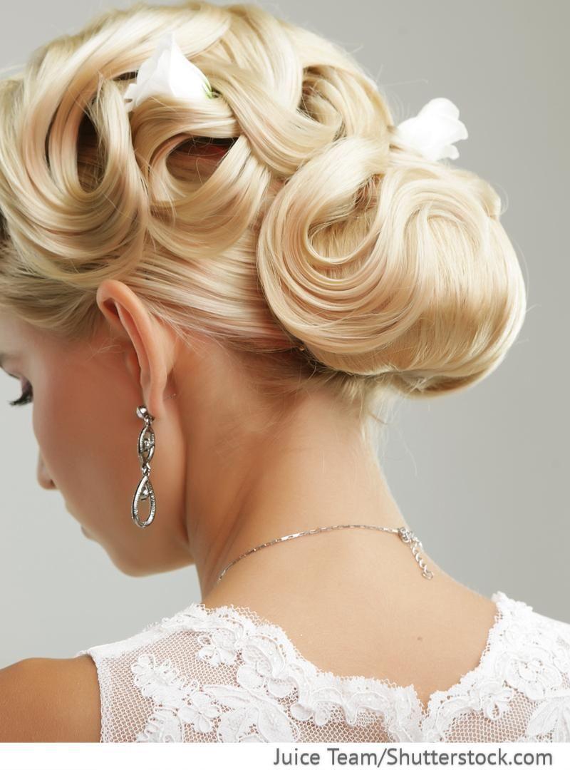 Hochsteckfrisur Fur Die Braut Hochzeitsfrisur Bei Russischer Hochzeit