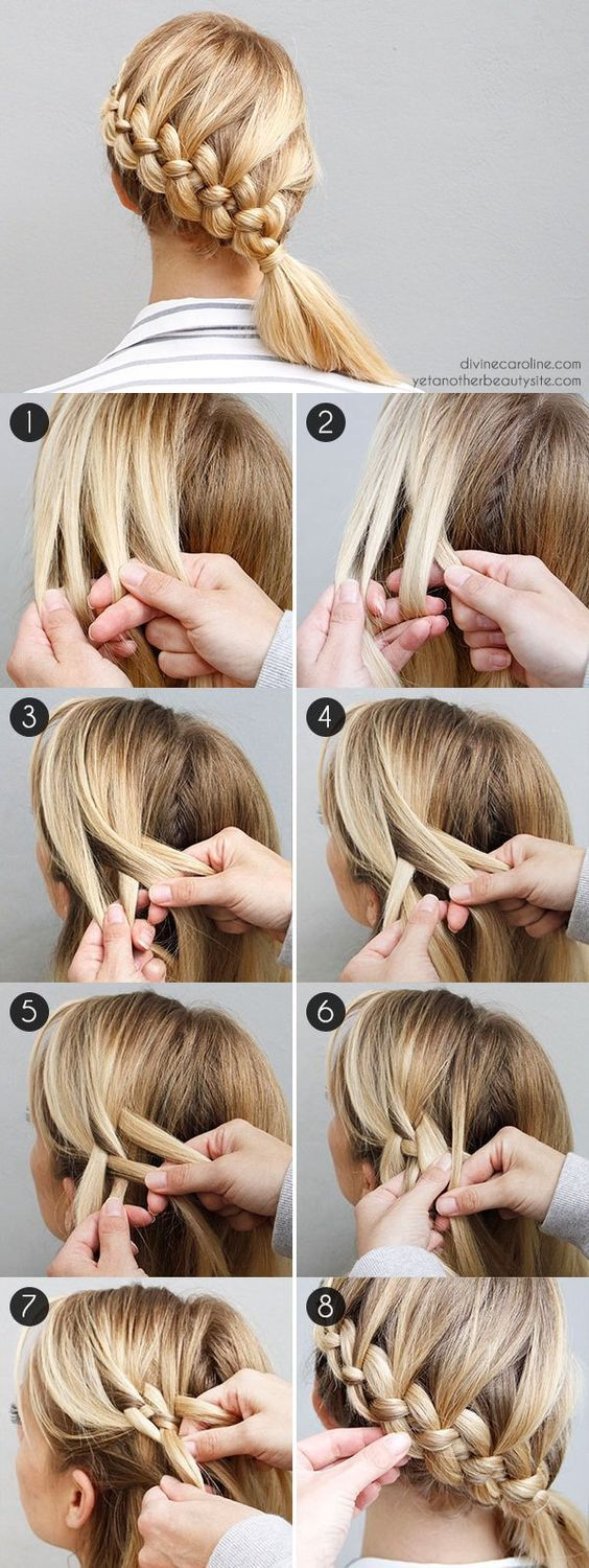 Hair tutorial step by step get gorgeous hair with these easy step