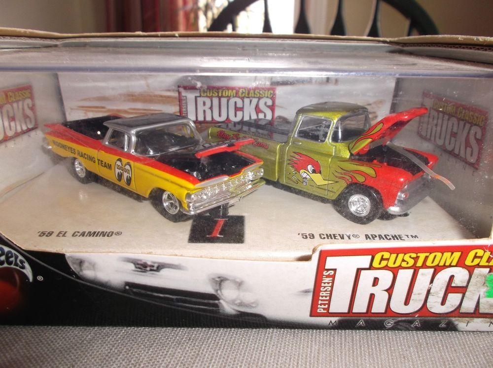 Hot Wheels 100 Mooneyes Custom Classic Trucks 59 El Camino 59