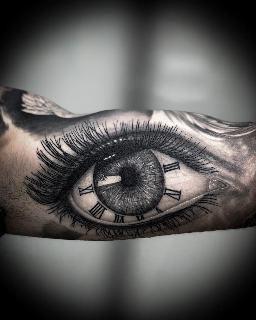 [50 Фото] Татуировка Глаз для Мужчин и Женщин   Татуировки ...