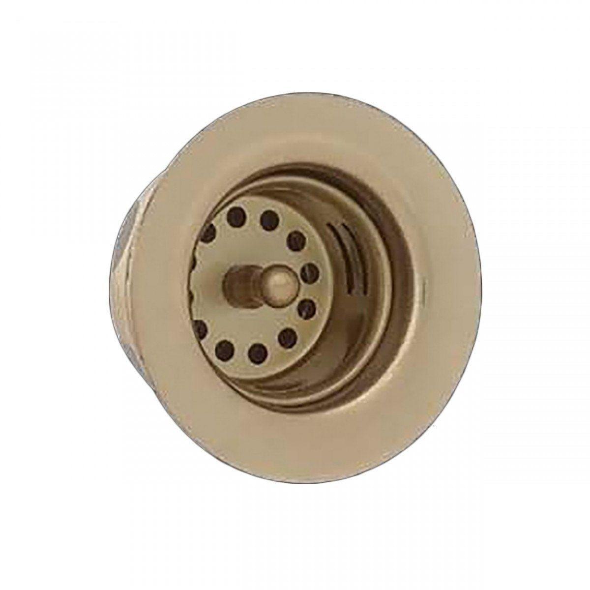 Bar Sink Strainer - Solid Bright Brass - 2-7/8 Drains | Renovator\'s ...