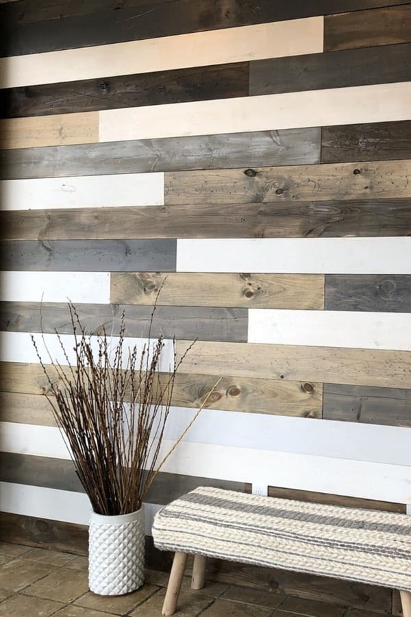 30 Best Wood Wall Ideas To Transform Any Room Crazy Laura Pallet Wall Decor Wooden Accent Wall Pallet Accent Wall