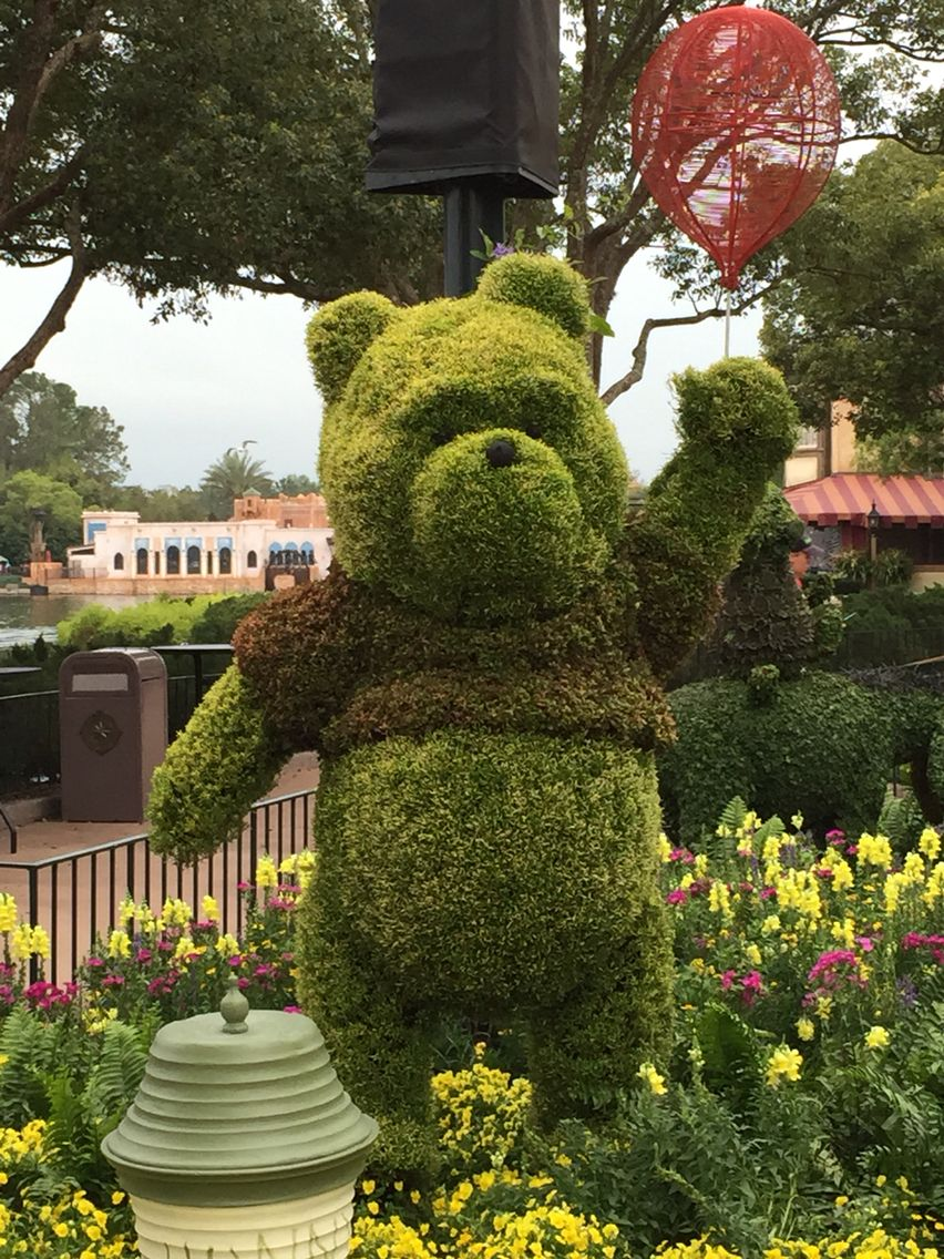 Winnie the Pooh at EPCOT Flower and Garden Festival | My Views of ...