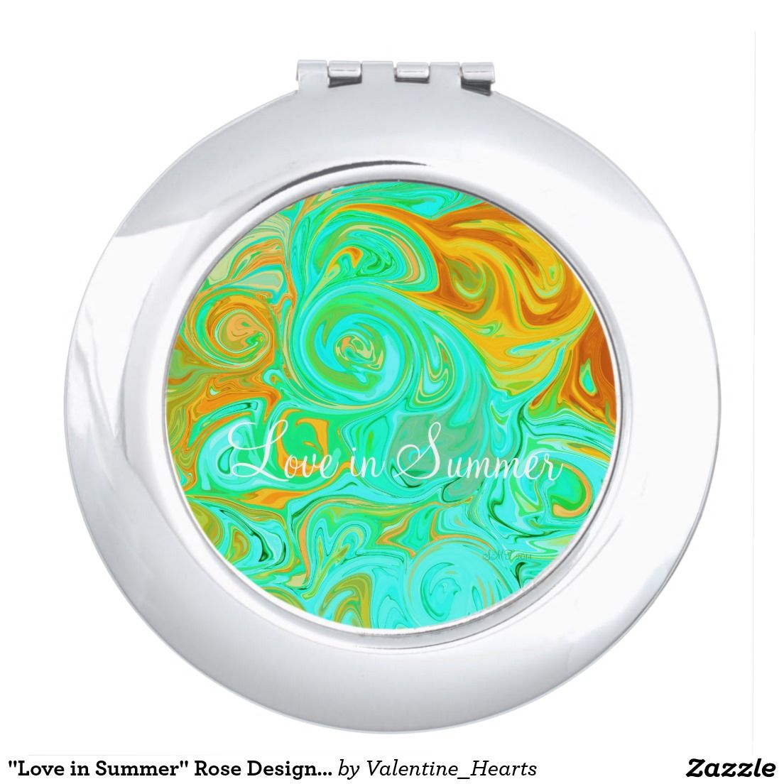 """""""Love in Summer"""" Rose Design ©2016 Mirrors For Makeup"""