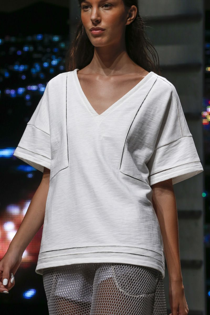 Band of Outsiders Spring 2014 #NYFW #luxury #tshirt