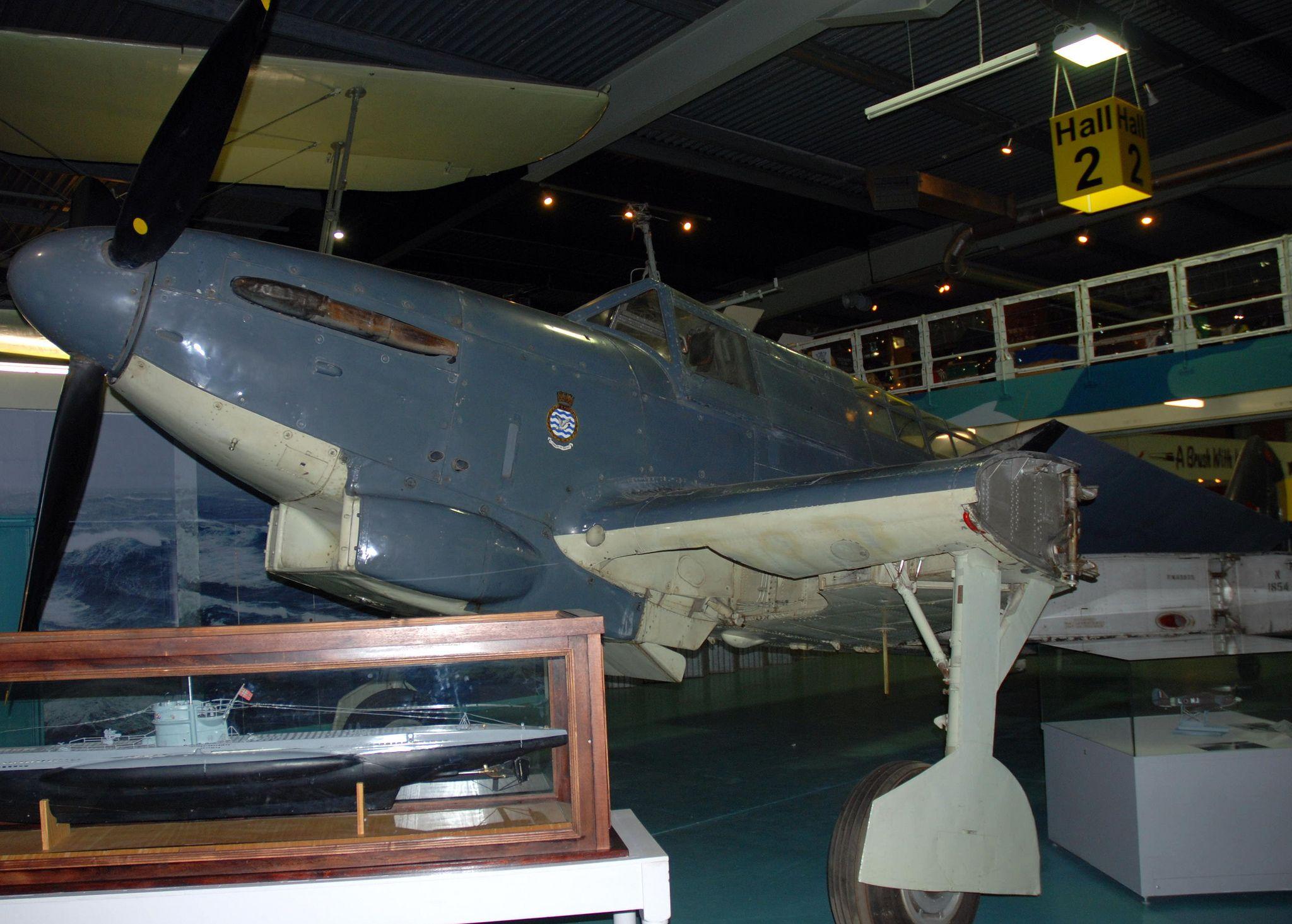 Fairey Fulmar, Fleet Air Arm Museum, RNAS Yeovilton