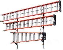 ladder storage ladder rack