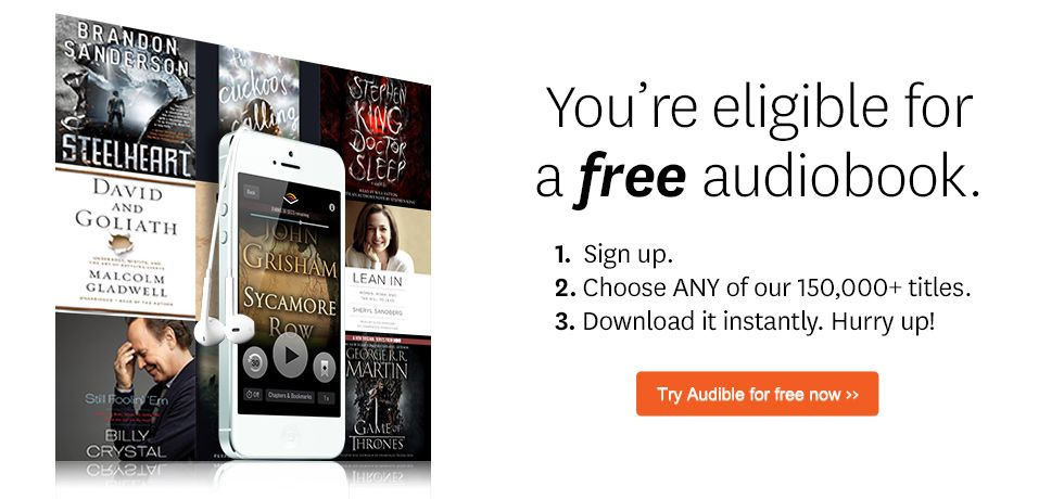 Audible Gift Memberships give the gift of