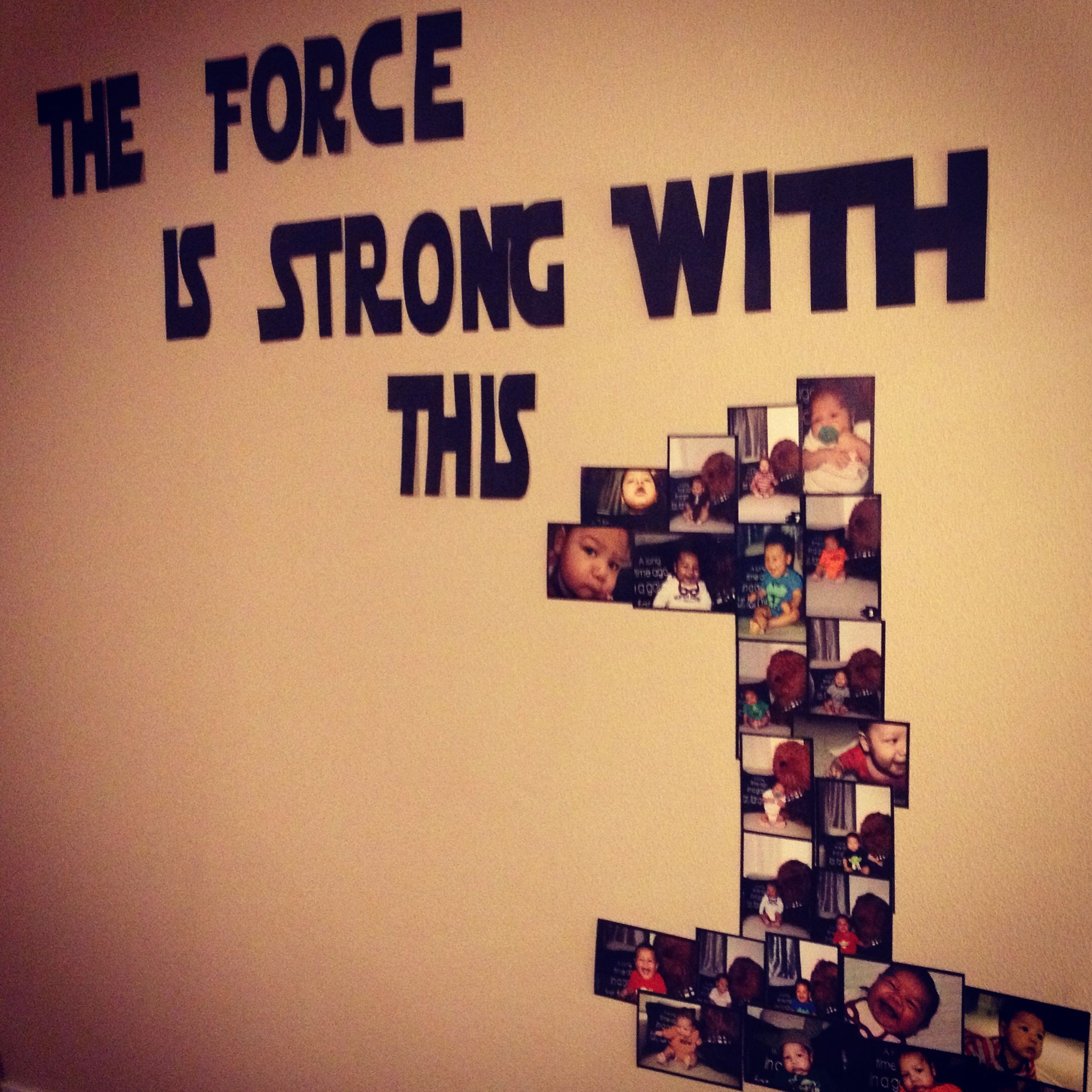 Star Wars Birthday Decor #starwars #birthday #partydecorations