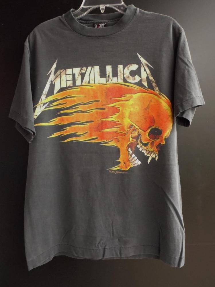 Metallica Vintage T Shirt Tour Concert 1994 Summer Cities