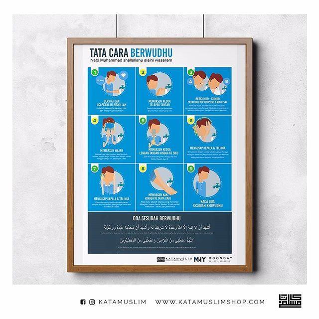 Poster Infografis Tata Cara Berwudhu Rosulullah Shalallahu Alaihi Wasallam Download Gratis Besok Akan Mimin Upload Insya Allah K Infografis Desain Poster