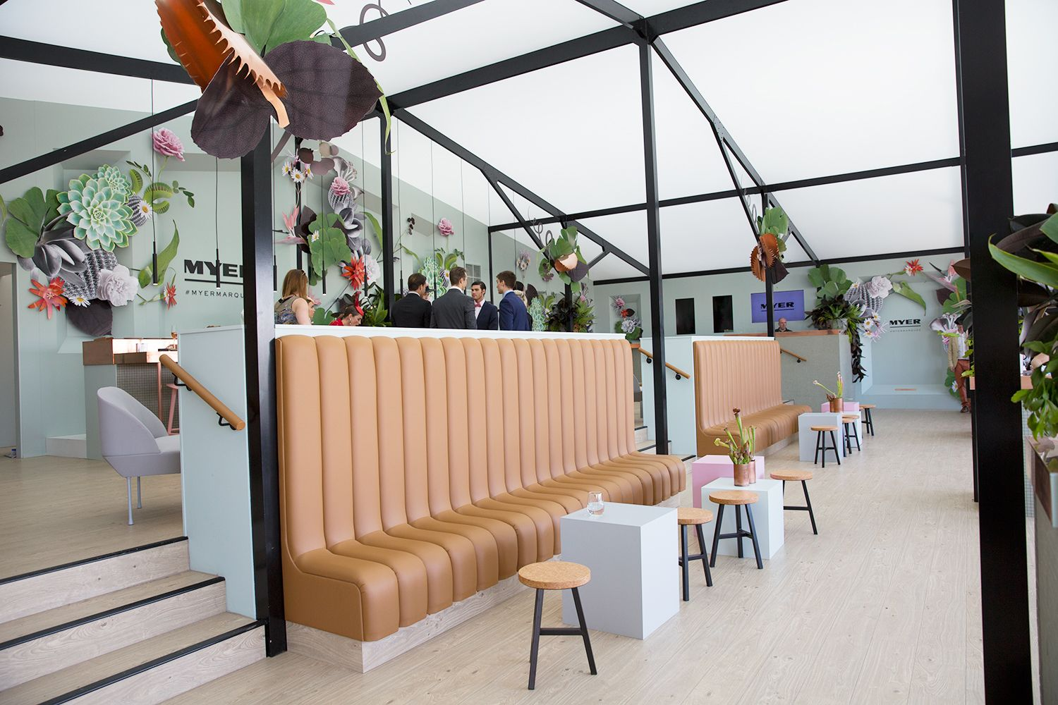 Image result for emirates melbourne cup marquee Cafe