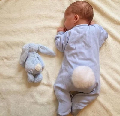Super SOFT Large Long Earrs Rabbit Bunny Plush Sleep Baby Toy Sleeping Pillow