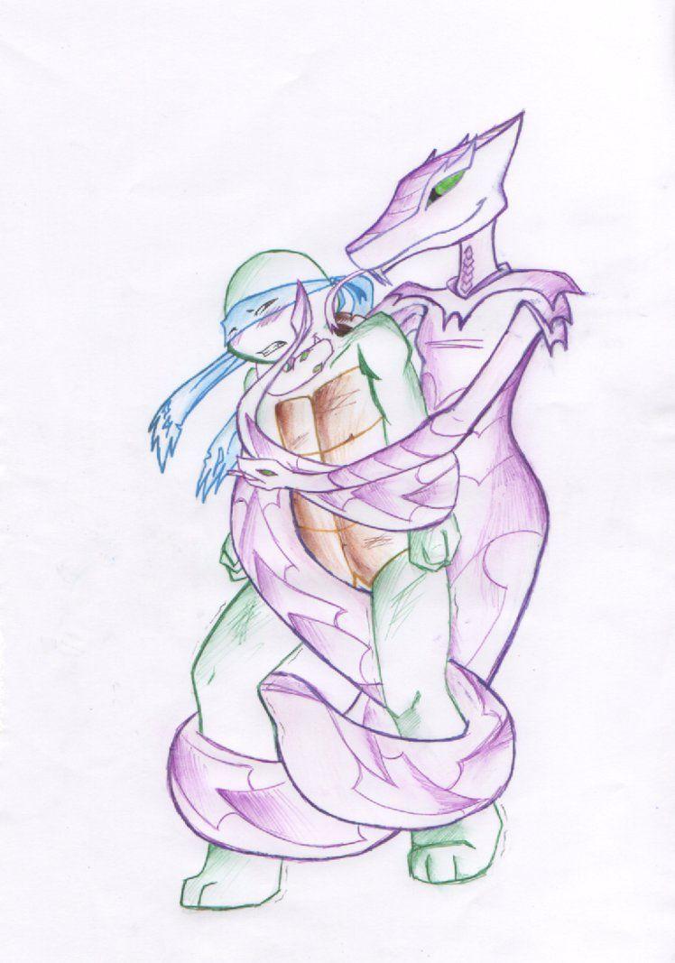 Картинки черепашки ниндзя карай змея