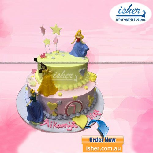 Is Your Princesss Birthday Coming Nearby This Disney Princess Cake Will Match With The
