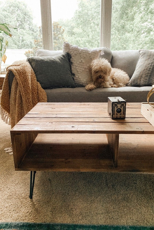 Master Bedroom Sofa Rug And Coffee Table Boho Styled Room