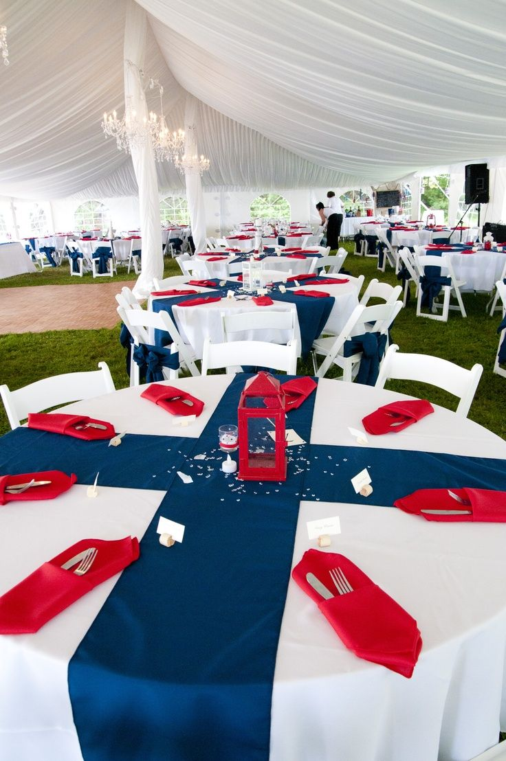 My Nautical Themed Wedding Red White Blue Wedding Blue Party