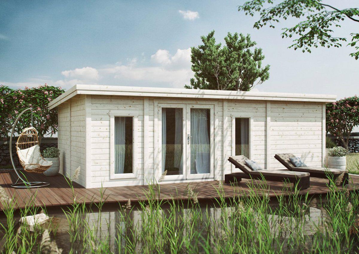 KiehnHolz Gartenhaus »Lillevilla 442«, BxT 787x446 cm