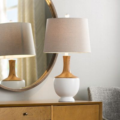 Mercury Row Fortney End Table Amp Reviews Wayfair Table Lamp Lamp Decorative Table Lamps