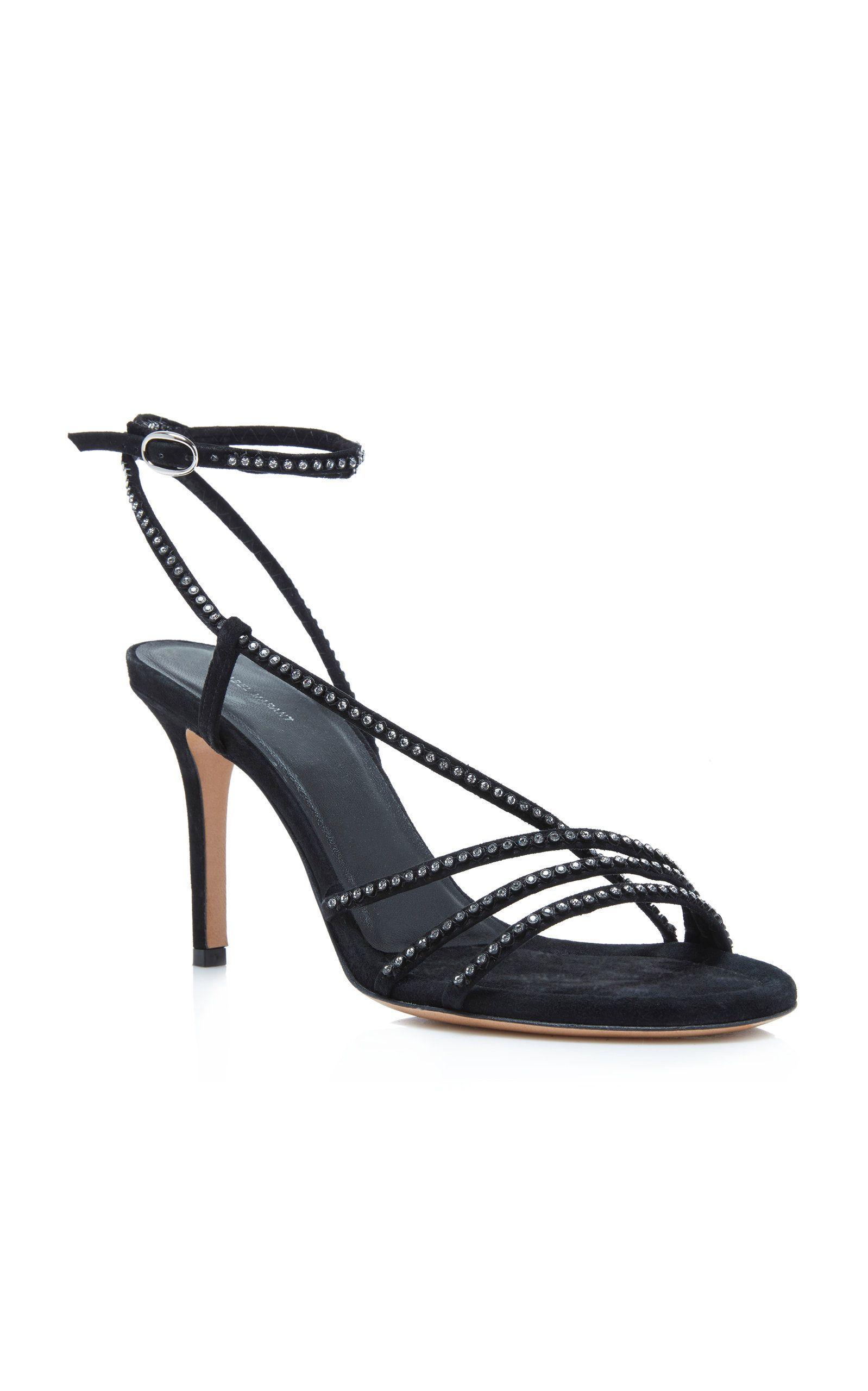84d376a82 Click product to zoom Metallic Mini Dresses, Suede Sandals, Isabel Marant,  Stiletto Heels
