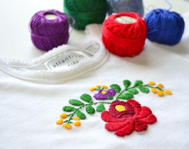 3 Free Hungarian Embroidery Designs (Untrendy Life) | Bordado