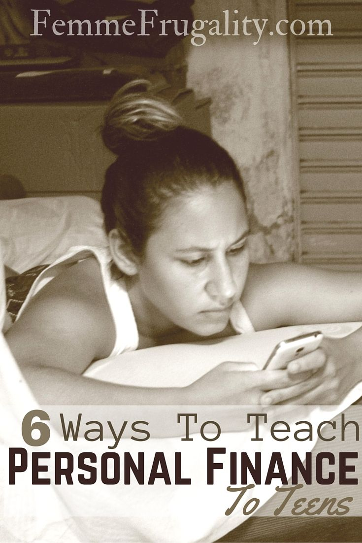 6 Tools To Teach Personal Finance To Teens Frugal Living Ideas Personal Finance Finance