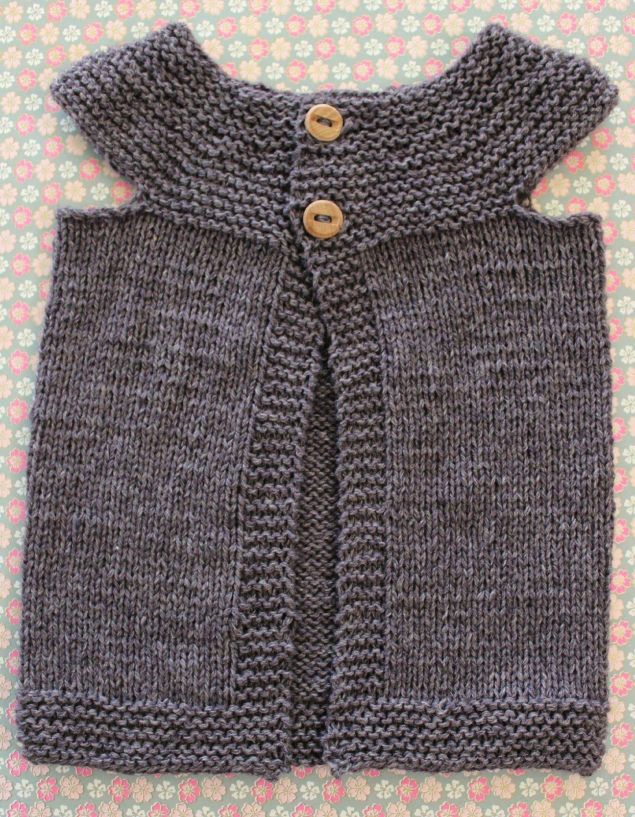 Frk.GarnGlad: VEST TIL EN LILLE FR�KEN - DIY  Knit Sweater #2dayslook #KnitSweater #susan257892 #ramirez701 #sasssjane    www.2dayslook.com