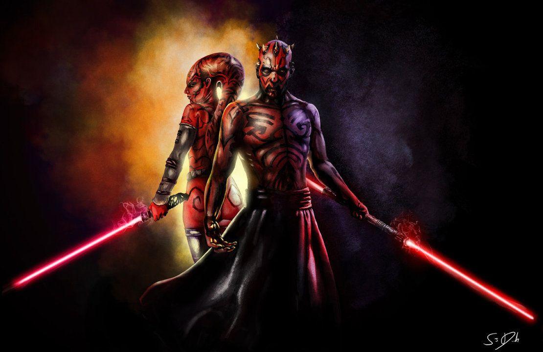 Darth Talon Maul Star Wars Samdenmarkart On Deviantart Star